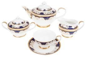 """<b>Чайный</b> сервиз <b>Best Home</b> Porcelain """"Indigo"""" 15 предметов ..."""