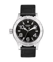 Водонепроницаемые женские наручные <b>часы Nixon 38-20 Leather</b>