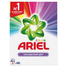 <b>Порошок стиральный Ariel</b> Color <b>автомат</b> 450гр д/цветного белья