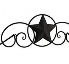 metal star wall decor: this made country western star style metal decorative wall decor and decoration above the door