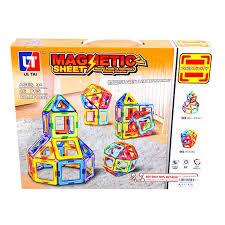 Магнитный 3D-<b>конструктор</b> Magnetic Sheet 46 дет. <b>Shantou</b> ...
