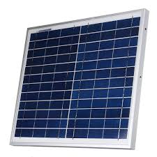 <b>12V 12W</b> Polysilicon Solar Panel Battery Charger System Module ...