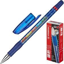 <b>Ручка шариковая</b> синяя <b>Stabilo</b> Exam Grade (толщина линии 0.4 ...
