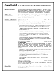 clerical resume samples resume format 2017 top