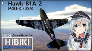 <b>Аниме камуфляж</b> для H-81A-2 и P-40C - War Thunder Hack Portal
