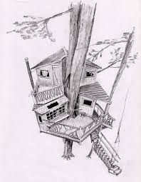 interior design large size simple tree house sketch design coloring page view larger image app design innovative office