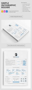 creative infographic resume templates minimal resume template design