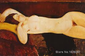 home decor hand painted nude woman reclining by amedeo modigliani paintings for sale home deco