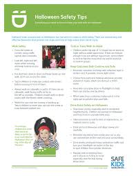 safe kids oregon halloween safety tips sheet spanish halloween safety tips 0