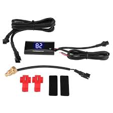 Universal <b>Motorcycle Digital Thermometer Instrument</b> Water Temp ...