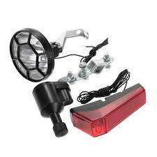 LED <b>Bicycle Lights</b> Set Kit Bike Safety Front Headlight <b>Taillight Rear</b> ...