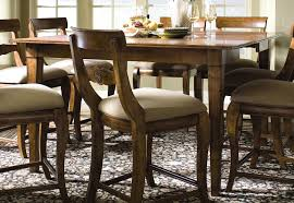Kincaid Dining Room Sets Addison Round Counter Height Table With One 18 Inch Extension Leaf