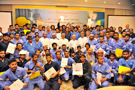 pdo trained i youth get welding jobs com the 195 men underwent their training at the ray skills development s halban workshop in muscat