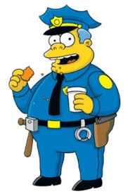 Afbeeldingsresultaat voor bart simpson police
