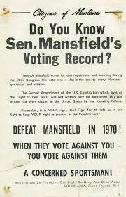 gun control exhibits lib umt edu citizens of montana campaign poster 1970