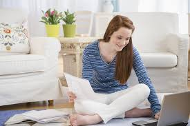 what are the most important  s of the college application    teenage girl       studying   laptop