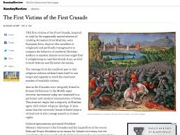 historians on susan jacoby s new york times essay on the first historians on susan jacoby s new york times essay on the first crusade andrew holt ph d