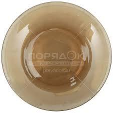 <b>Тарелка обеденная стеклянная</b>, 205 мм, дымка 62072 Basilico в ...