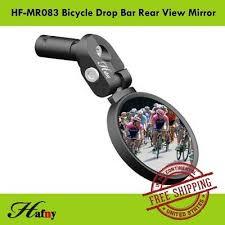 Hafny HF-MR083 Road <b>Bicycle</b> Drop Bar <b>Bike Rear View Mirror</b> ...