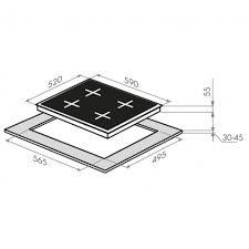 Индукционная варочная панель <b>MAUNFELD EVI</b>.<b>594</b>-<b>FL2</b>-<b>BK</b>