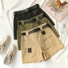 Flectit весна лето 2019, женские <b>шорты Карго</b> с поясом, шорты ...