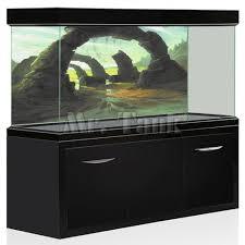 <b>Mr</b>.<b>Tank</b> PVC <b>Aquarium Background Poster</b> 3D Effect Stone Arches ...