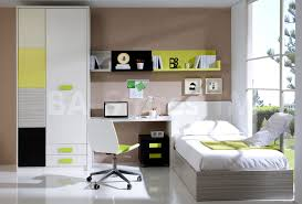 funky teenage bedroom furniture  cool teen bedroom design ideas with platform bed with mattress and pillows also headboard and desk