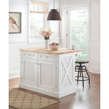 wood drawer kitchen baking island martha stewart living peyton  in w wood kitchen island in picket fence