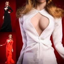18XG31 <b>1/6 Scale Female Figure</b> Accessory Sexy Elizabeth Olsen ...