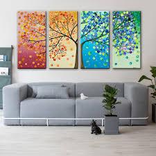 4 Panels <b>Landscape</b> Wall Art Canvas Prints Modern <b>Modular</b> ...