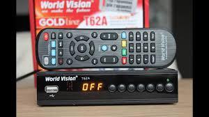 <b>World Vision</b> T62 А. Цифровой Т2 приемник. Распаковка.#romchik ...