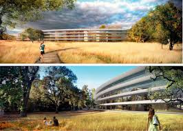 when steve jobs announced in 2011 that apple would be using 175 acres of land in cupertino calif to build a 28 million square foot office complex apple new office