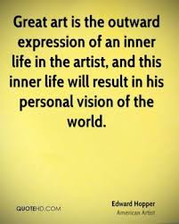Edward Hopper Quotes | QuoteHD | Artfully Wonderful | Pinterest via Relatably.com