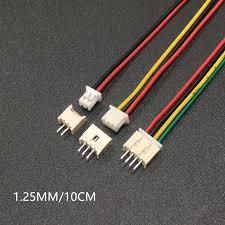 10 Sets Male & Female PCB Connector XH 1.25 JST 2/<b>3</b>/4/5/6/7/8/9 ...