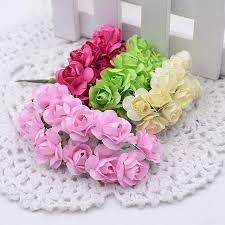 <b>12Pcs</b>/<b>Lot 2 см</b> мини-бумажные розы цветы украшение ...