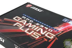 Обзор <b>материнской платы MSI</b> MPG Z390 Gaming Plus