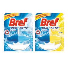<b>Освежитель</b> для туалета <b>BREF</b> DUO ACTIVE, гель, 50 мл с ...