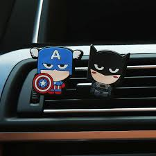 MR TEA <b>Cute Cartoon</b> Hero Air Freshener Perfume The Avengers ...