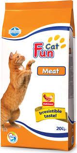 <b>Сухой корм</b> для кошек <b>Farmina Fun</b> Cat, мясо, 20кг