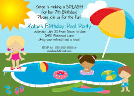 birthday pool party invitations com birthday pool party invitations to design prepossessing party invitation card based on your style 191120167