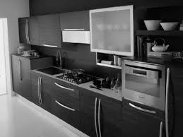 Lowes Custom Kitchen Cabinets Kitchen Cool Black Marble Kitchen Cabinet With Grey Metal