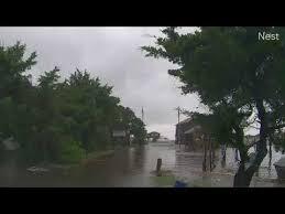 Hurricane Dorian Landfall Hatteras - Day 6 - Vehicle Cam - YouTube