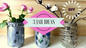 jar crafts home easy diy: diy  recycling jar ideas jar crafts for home decor by fluffy hedgehog youtube