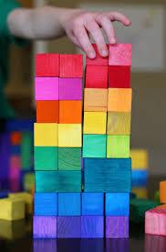 "DIY Dyed Rainbow ""Grimm"" Style <b>Wooden Blocks</b> | <b>Игрушки</b> своими ..."