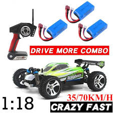 WLtoys <b>A959-A A959</b>-B <b>1/18</b> 4WD Buggy Off Road <b>1:18</b> RC Car 70 ...