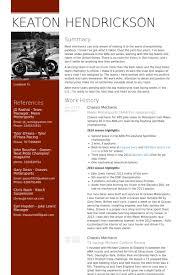 mechanic resume samples  resume samples database chassis mechanic resume samples