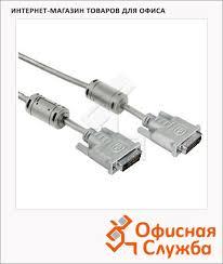 <b>Кабель</b> соединительный <b>DVI</b>-<b>DVI Hama DVI</b>-<b>DVI</b> (m-m) <b>1.8 м</b> ...