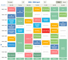revision timetable maker   study plannerorganise your revision time