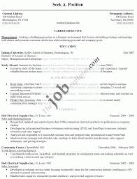 job resume example resume format for part time job view sample job winning resume examples job winning resumes examples