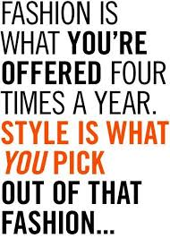 Fashion Quotes of the Week